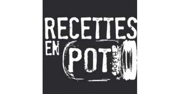 Logo recette en pot