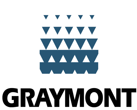 Logo entreprise Graymont qui a fait un don à la fondation Passpport
